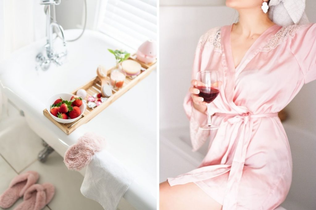 How to Set Up a Spa Day at Home When You're Stressed - pamper day at home