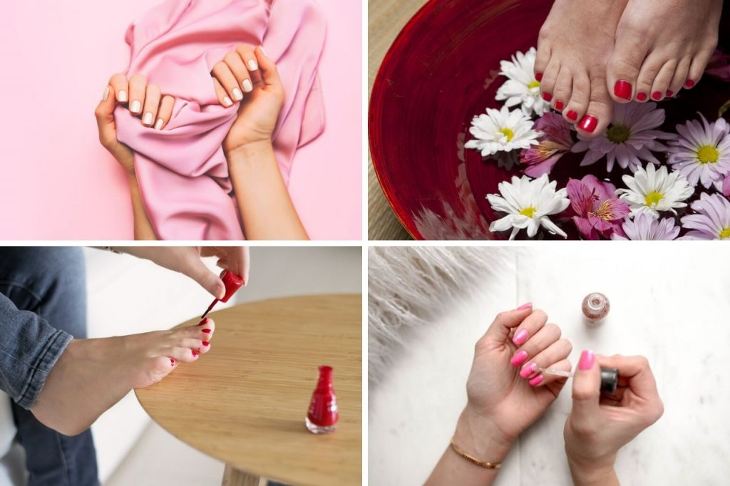 How to do your own manicure and pedicure at home - diy nail and foot care