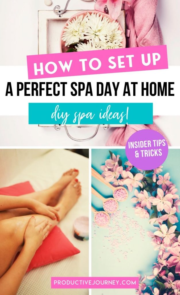 How to set up a perfect spa day at home - insider tips