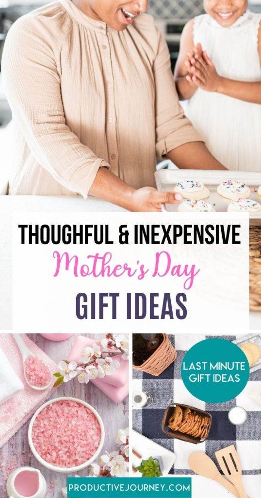 Thoughtful & Inexpensive last minute mother's day gift ideas