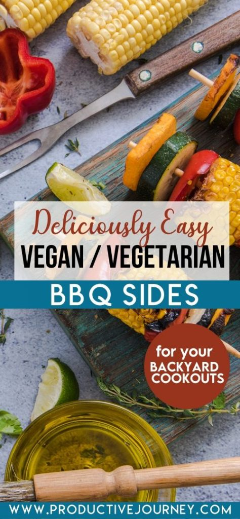 deliciously easy vegan vegetarian bbq sides for your backyard cookouts