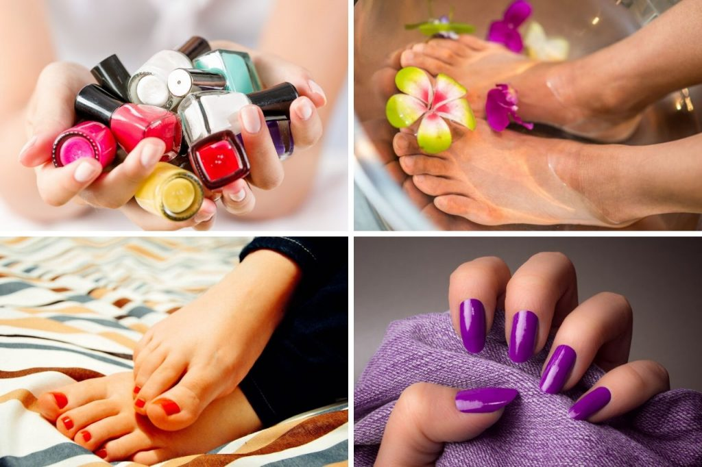 diy manicure and pedicure at home