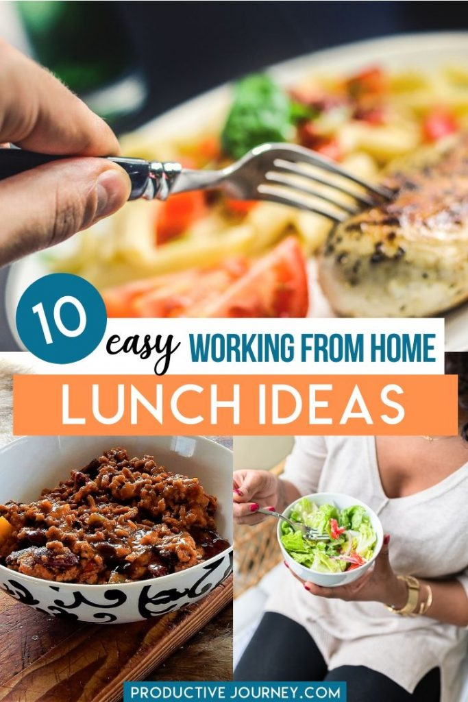 easy working from home lunch ideas for you