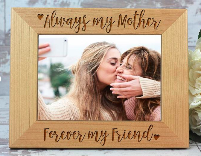 personalized photo frame - mother's day gift guide