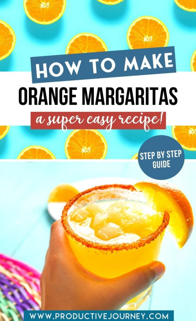 How To Make Orange Margaritas - A Super Easy Recipe