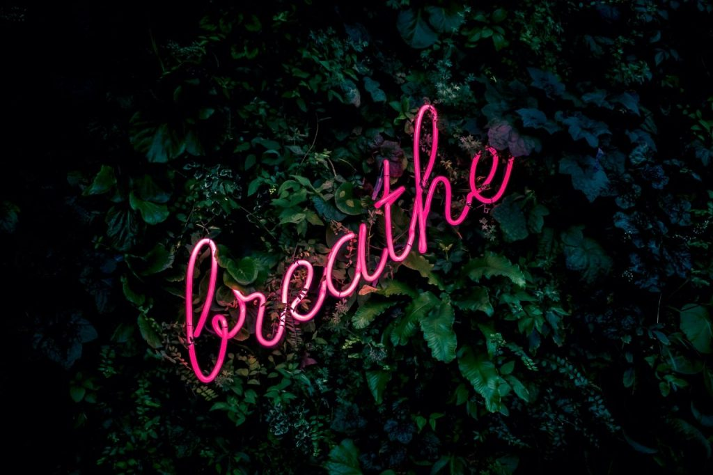progressive relaxation techniques breathe in and out